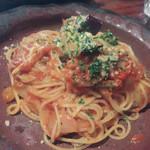 木古里 - 茄子とパルメザンチーズとトマトソース.