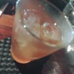 木古里 - ランチセットの紅茶(アイス).ぼやけてる〜〜(*_*)