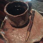 木古里 - ランチセットのコーヒー.