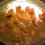 旬の魚と旨い地鶏 魚鶏屋 - 日替わりランチ(チキンカツカレー)