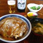 細島屋 - 料理写真:かつ丼