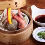 大漁市場 魚ます - 海鮮チリ蒸し