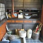 五平田・蔵 - 内観2 玄関先