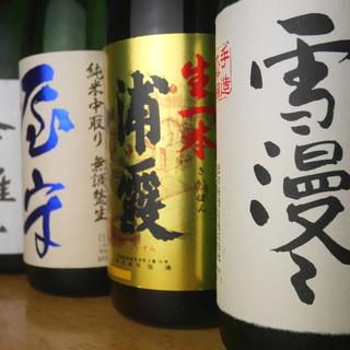 【日本各地のを地酒数多く】入手困難な限定酒がズラリ!?