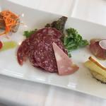 リストランテ ウミリア - 本日の前菜盛り合わせ
