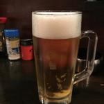 やきとん ひょっとこ - 生ビール 600円