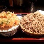 70548811 - もり・大盛り+桜海老かき揚げ