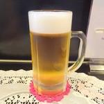元気 - ドリンク写真:生ビール中