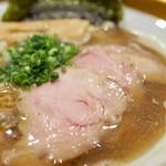 ソラノイロ ナゴヤ - 金の煮干し麺…800円