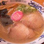 らーめん周 - 塩ラーメン(700円、500円)