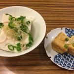 高柳豆腐店 - 木綿豆腐と厚揚げ豆腐