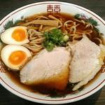 中嘉蕎麦 瞭然 - 料理写真:【中嘉蕎麦 中 + 煮玉子】¥650 + ¥100