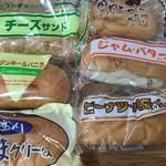 福田パン - たくさんの種類があります