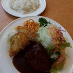 レストラン シラツユ - Aランチ(日替り)900円