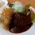 レストラン シラツユ - キスフライとハンバーグ