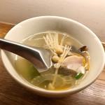 タイ料理 スワンナプームタイ - スープ