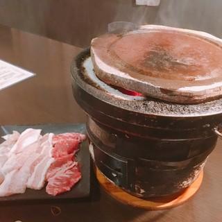 くろぼうず - 最初のお肉盛り