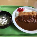 道の駅 まるせっぷ - カツカレー¥900