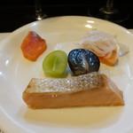 山猫軒 - タスマニアサーモン三種盛り