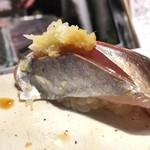 第三春美鮨 - 真鰺 瀬付き 117g 釣 兵庫県沼島