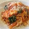オステリア イル バッコ - 料理写真:フレッシュトマトのタリアテッレ