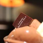 ピエール マルコリーニ - マルコリーニ チョコレートパフェ☆