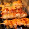 極 - 料理写真:炭火で焼く特選串焼アツアツジューシー!