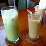 アンカフェ - アイスカフェオレ&アイスミルク抹茶!