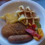70563022 - 朝食の一例、洋