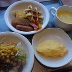 70563028 - 朝食の一例、洋
