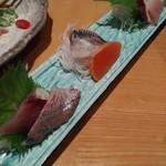 魚菜 日本橋亭 - 旬の鮮魚5種の大漁お宝盛合せ