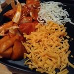 魚菜 日本橋亭 - Wチーズのタッカルビ