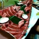大衆酒場 まるちゃん - 料理写真:マグロ全部盛り