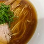 ラーメン星印 - 綺麗なスープ