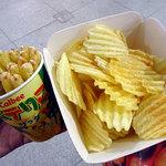 カルビープラス - ポテトチップス アンチョビガーリック味290円税込