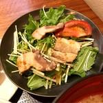 Rabu - 焼き豚サラダ
