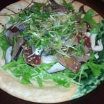 日本酒バル森 - 新鮮魚介のカルパッチョ