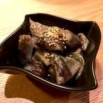 うどん居酒屋 武蔵野 はせがわ - なす味噌(380円)