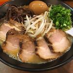味の蔵 - 味噌チャーシュー+味玉    1070円