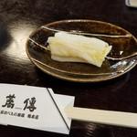 蕎傳 - サービスの漬物