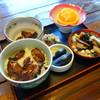 鰊屋敷 太田 - 料理写真:山椒丼セット(\1080税込み)