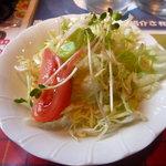 カフェレストランねぎぼうず - セットのサラダ