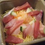 古都 - お昼天ざるバラちらし定食(バラちらし)