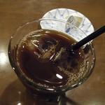 古都 - お昼天ざるバラちらし定食(アイスコーヒー)