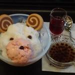タリーズコーヒー - ベアフルかき氷(表参道ヒルズ店限定・7/14~9/15)
