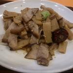 生駒 - 料理写真:・豚肉と筍炒め 630円