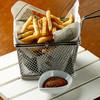 和牛脂で揚げたトリュフフライドポテト