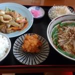 台湾料理 隆福 - 料理写真:八宝菜セット