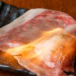 霜降り和牛の炙り寿司 2貫