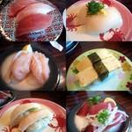 回転寿司 天天丸 - 料理写真:
